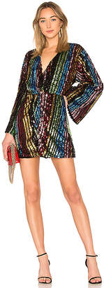 LPA Twist Front Dress With Kimono Sleeve