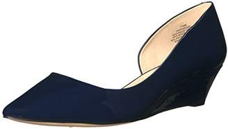 Nine West Women's Evadne Patent Wedge Pump
