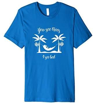 DAY Birger et Mikkelsen Funny Holiday Summer Vacation T Shirt Funny Hammock Tee