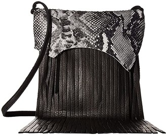 Leather Rock Rylen Fringe Crossbody