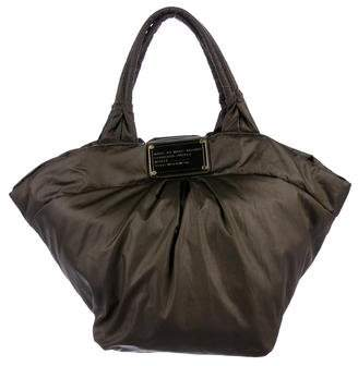 Marc by Marc Jacobs Leather-Trimmed Tote