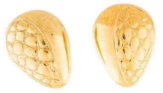 Lanvin Textured Clip-On Earrings