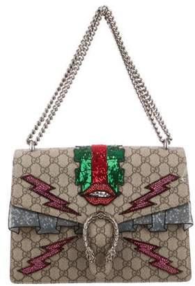 8de6a30a931 Gucci Embellished Medium GG Supreme Dionysus Bag