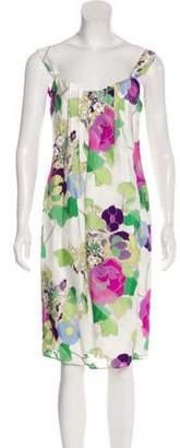 Armani Collezioni Printed Sleeveless Dress