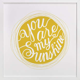 You are my sinshine Self-Launch Children's Art Print