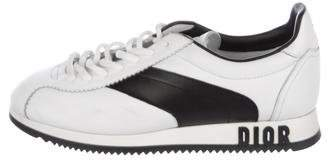 Christian Dior 2018 Leather Low-Top Sneakers