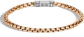 John Hardy Men's Classic Bronze Box Chain Bracelet