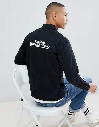 Jack and Jones Core Jacket With Back Print