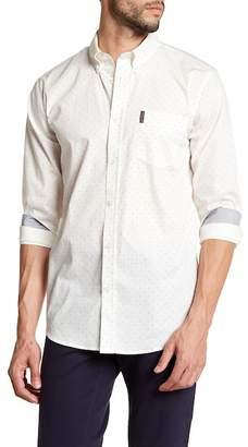 Ben Sherman Micro Ditsy Print Regular Fit Shirt