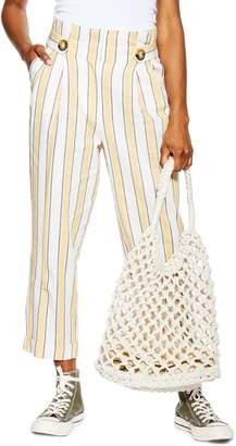 Topshop Stripe Trousers