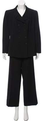 Chanel Wool Wide-Leg Pantsuit
