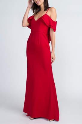 Minuet Cold Shoulder Gown