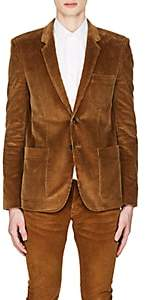 Saint Laurent Men's Cotton Corduroy Two-Button Sportcoat - Camel