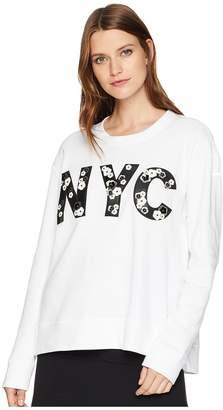 Kenneth Cole New York Swing Back Sweatshirt Women's Sweatshirt