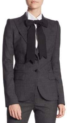 Dolce & Gabbana Button-Front Jacket