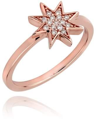 Lark & Berry Star Diamond Pave Ring Rose Gold