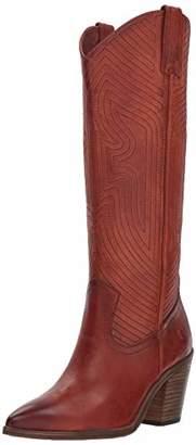 Frye Women's Faye Stitch Pull On Western Boot