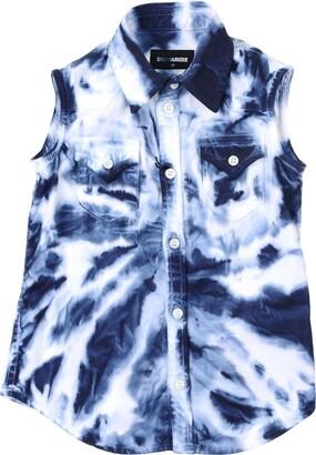DSQUARED2 Denim shirts - Item 42639601TG