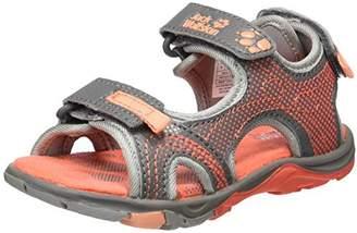 Jack Wolfskin Girls' Acora G Sports Sandals, Tropic Pink