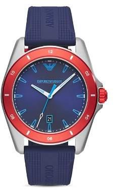 3e796afc9bb at Bloomingdale s · Emporio Armani Sigma Blue Silicone Strap Watch
