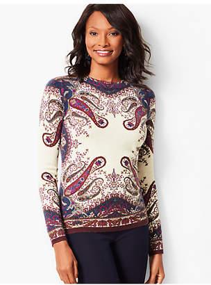 Talbots Audrey Cashmere Sweater-Paisley