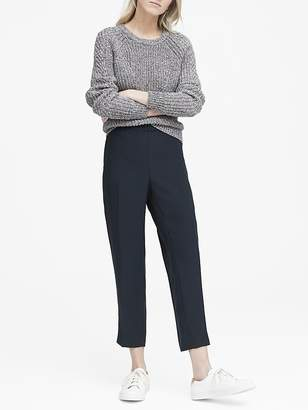 Banana Republic Petite Hayden Tapered-Fit Pull-On Ankle Pant