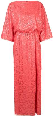 Rami Al Ali sequin embroidered maxi dress