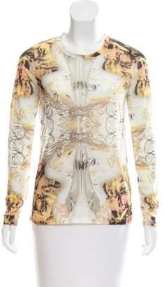 Prabal Gurung Long Sleeve Printed Top