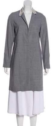 Brunello Cucinelli Virgin Wool Button-Up Coat