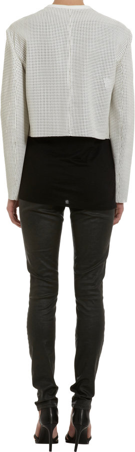 Helmut Lang Perforated Jacket