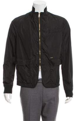 DSQUARED2 Woven Zip-Up Jacket