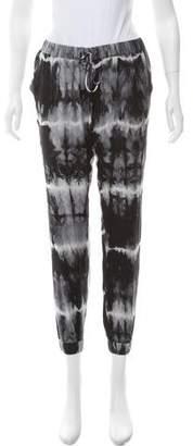 Haute Hippie Silk Tie-Dye Pants