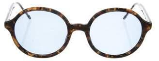 Thom Browne Mirrored Tortoise Sunglasses