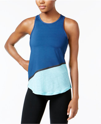 Ideology Colorblocked Tank Top, Created for Macy's $29.50 thestylecure.com