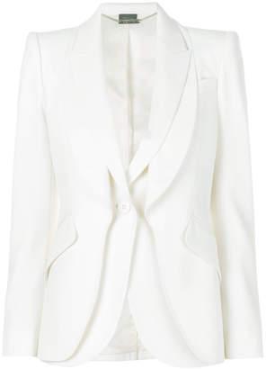 Alexander McQueen double layered blazer