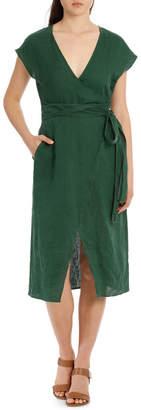 Miss Shop Midi Wrap Dress