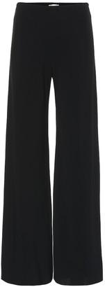 The Row Gala wide-leg crepe pants