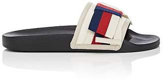 Gucci Women's Pursuit Satin Slide Sandals