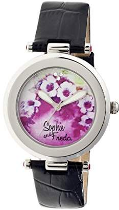 Freda Sophie and Women's 'Versailles' Quartz Stainless Steel and Leather Watch