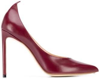 Francesco Russo pointed-toe stiletto pumps