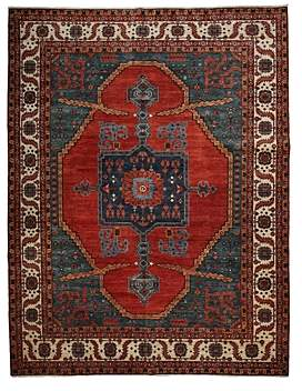 Adina Collection Oriental Rug, 9'1 x 11'10