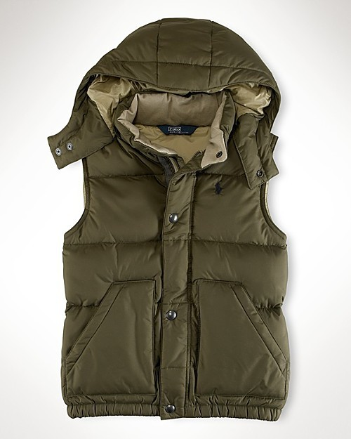 Ralph Lauren Childrenswear Toddler Boys' Down Vest