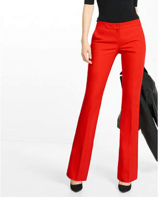 Express Low Rise Slim Flare Columnist Pant $79.90 thestylecure.com