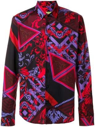 Versace tribal print shirt