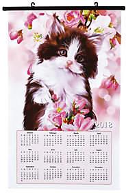 DIAMOND DOTZ Diamond Dotz Kitten 2018 Calendar Facet Art Kit