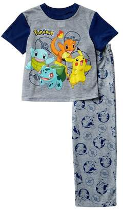 Pokemon AME Pajama Set (Little Boys & Big Boys)