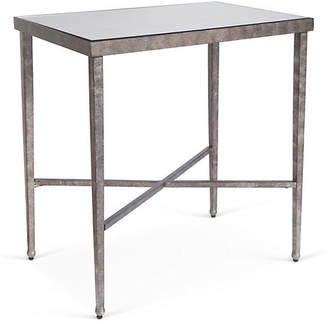 One Kings Lane Charlotte Mirrored Side Table - Bronze