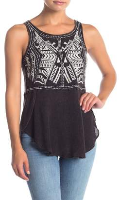 Angie Embroidered Tank Top