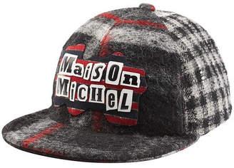 Maison Michel Printed Baseball Cap