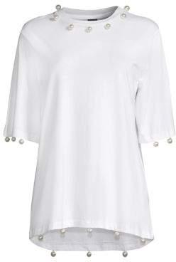 Romance Was Born Angel Embellished T-Shirt